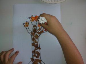 Φθινοπωρινό δέντρο με μπατονέτες