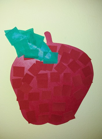 Μήλο κολάζ
