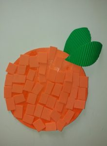 πορτοκάλι κολάζ