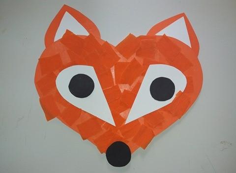 ζώα του δάσους αλεπού