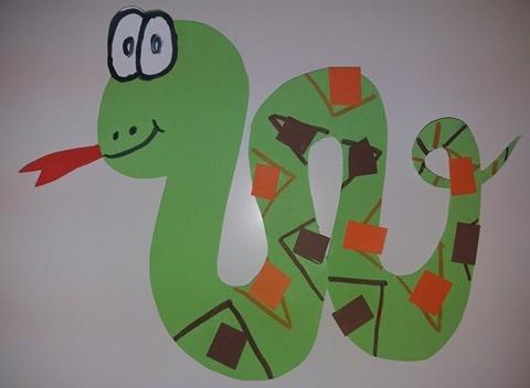 Ζώα του δάσους φίδι