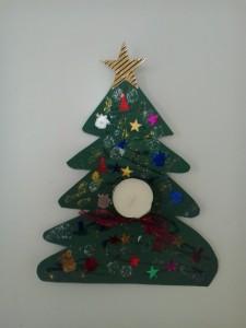 χριστουγεννιάτικο δέντρο με ρεσώ