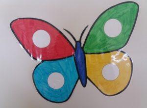 Μαθαίνω τα χρώματα παρέα με την πεταλούδα