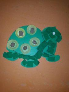 ζώα, χελώνα χειροτεχνία